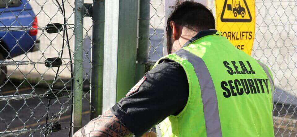 Property guarding services